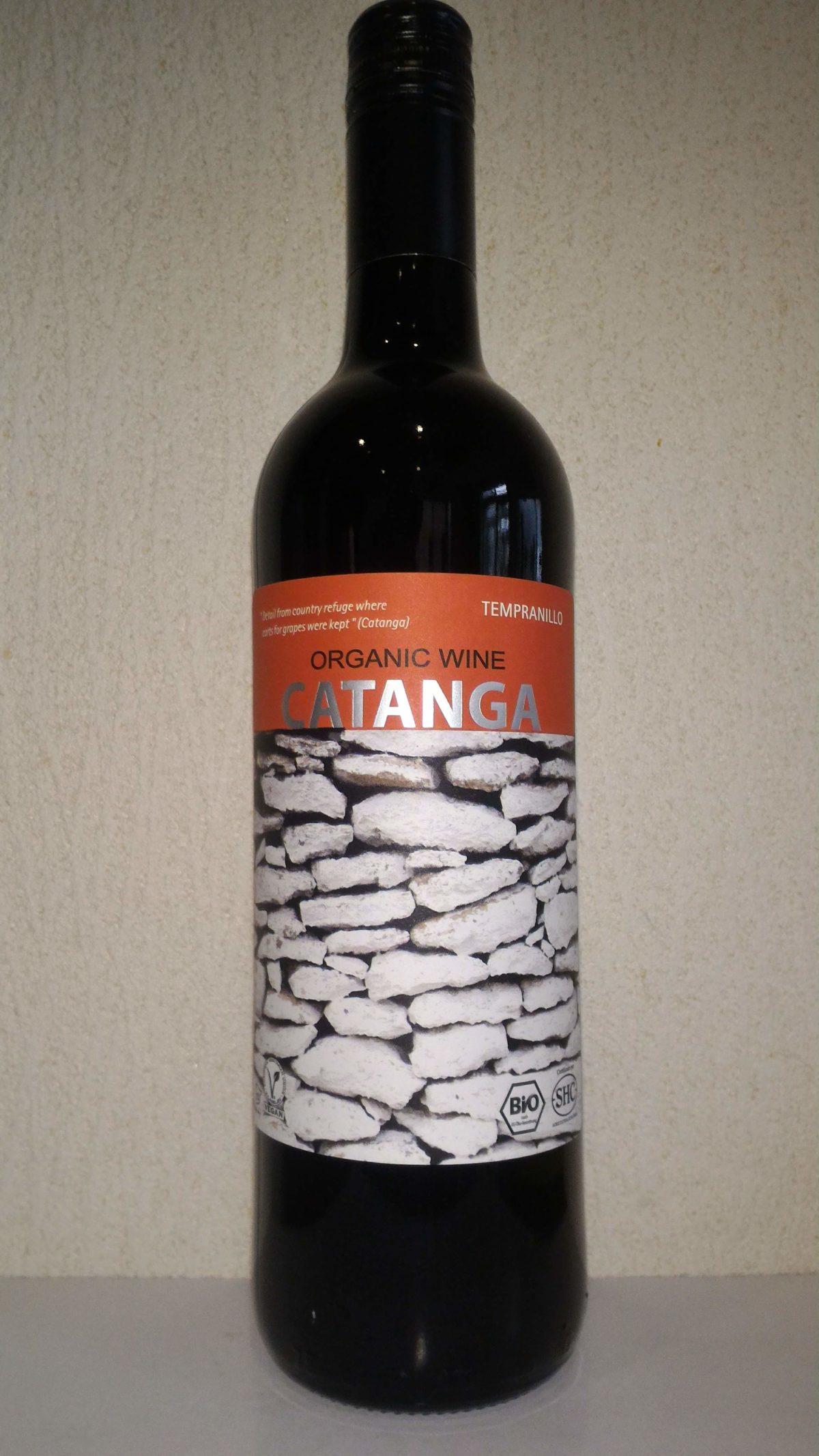 1000円以下で愉しむ赤ワイン「カタンガ テンプラニーリョ」
