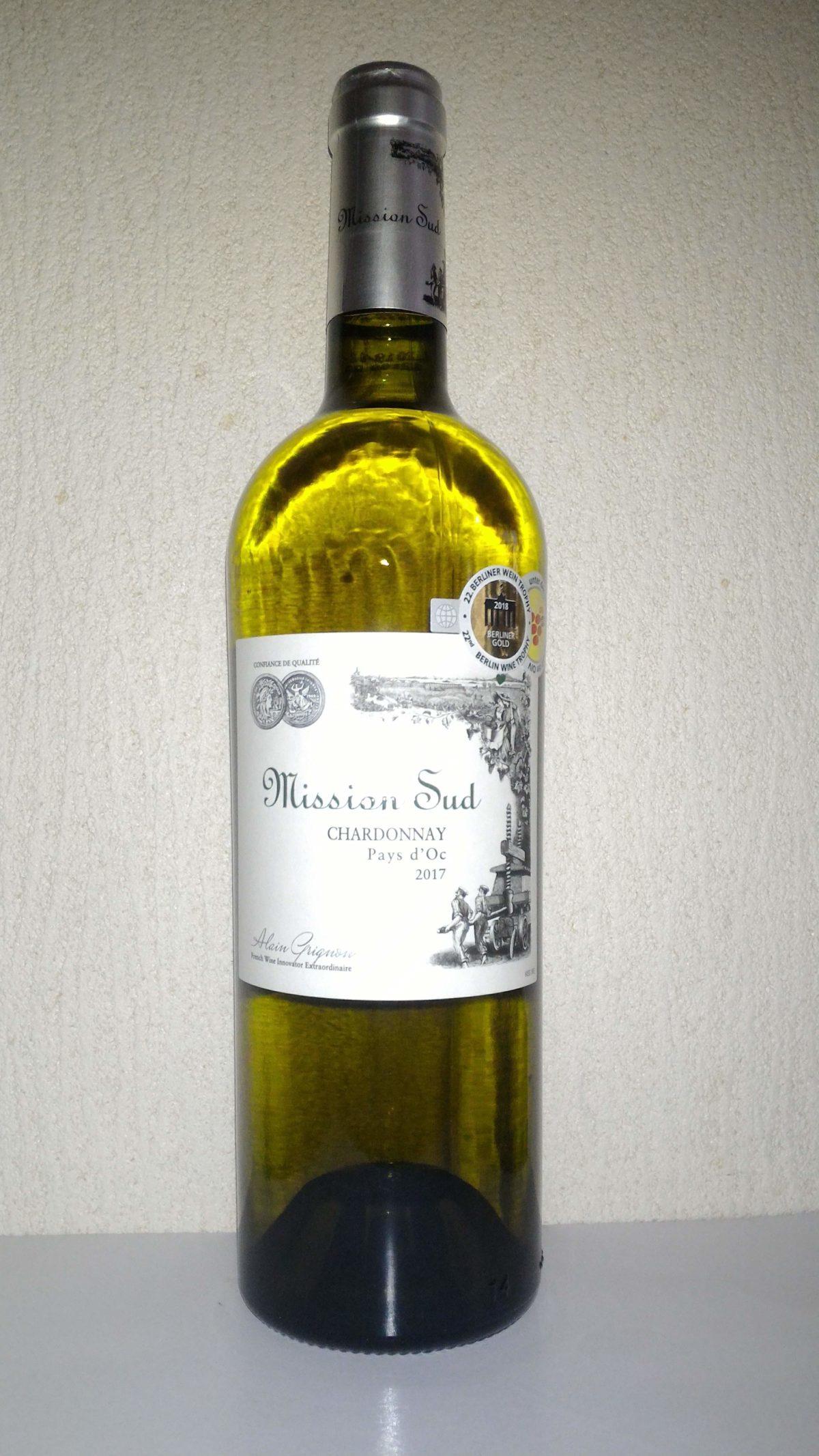 1000円~2000円で愉しむワイン「ミッション・シュッド シャルドネ」