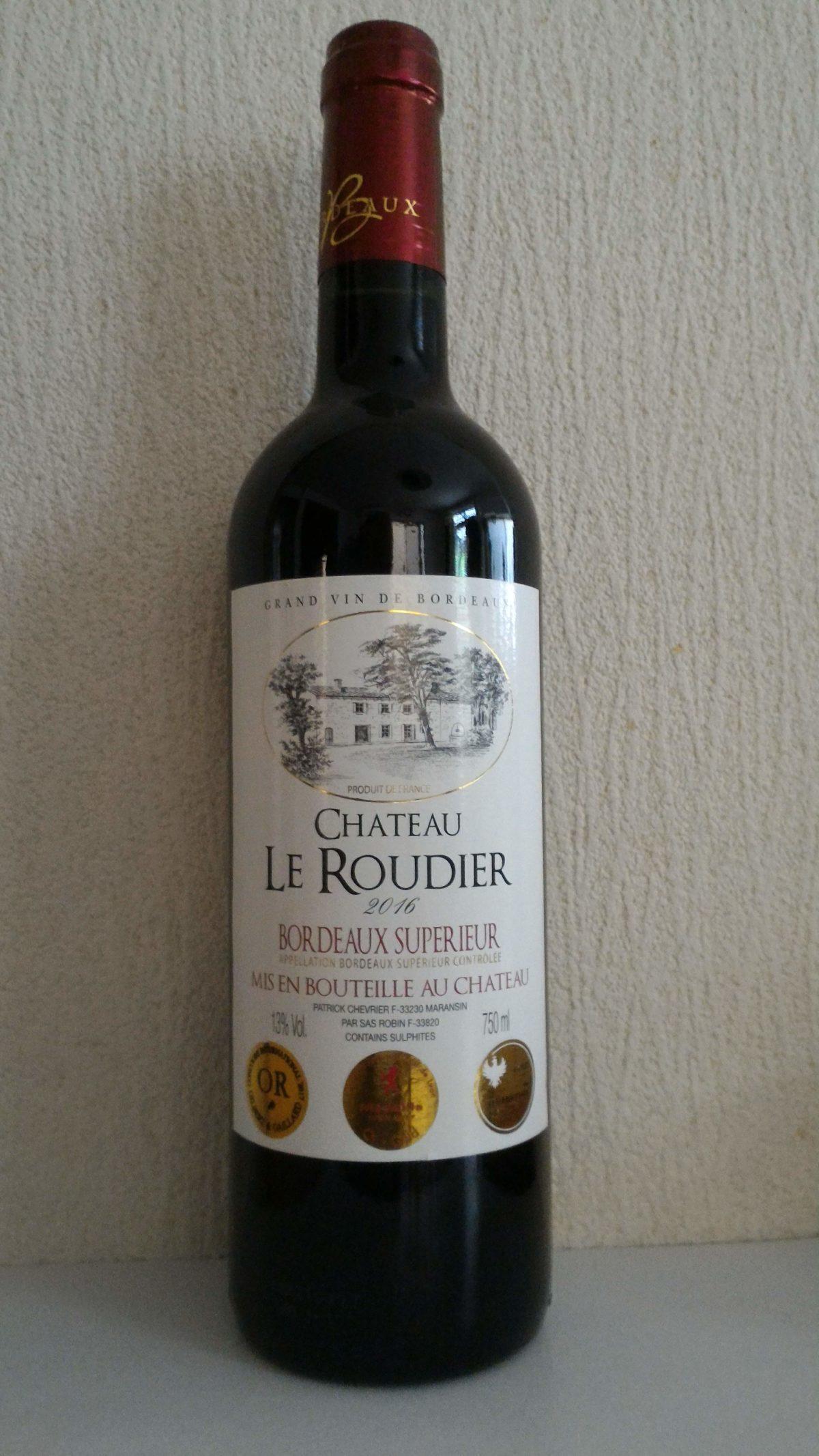 1000~2000円以下で楽しむ赤ワイン「シャトー・ル・ルディエ」