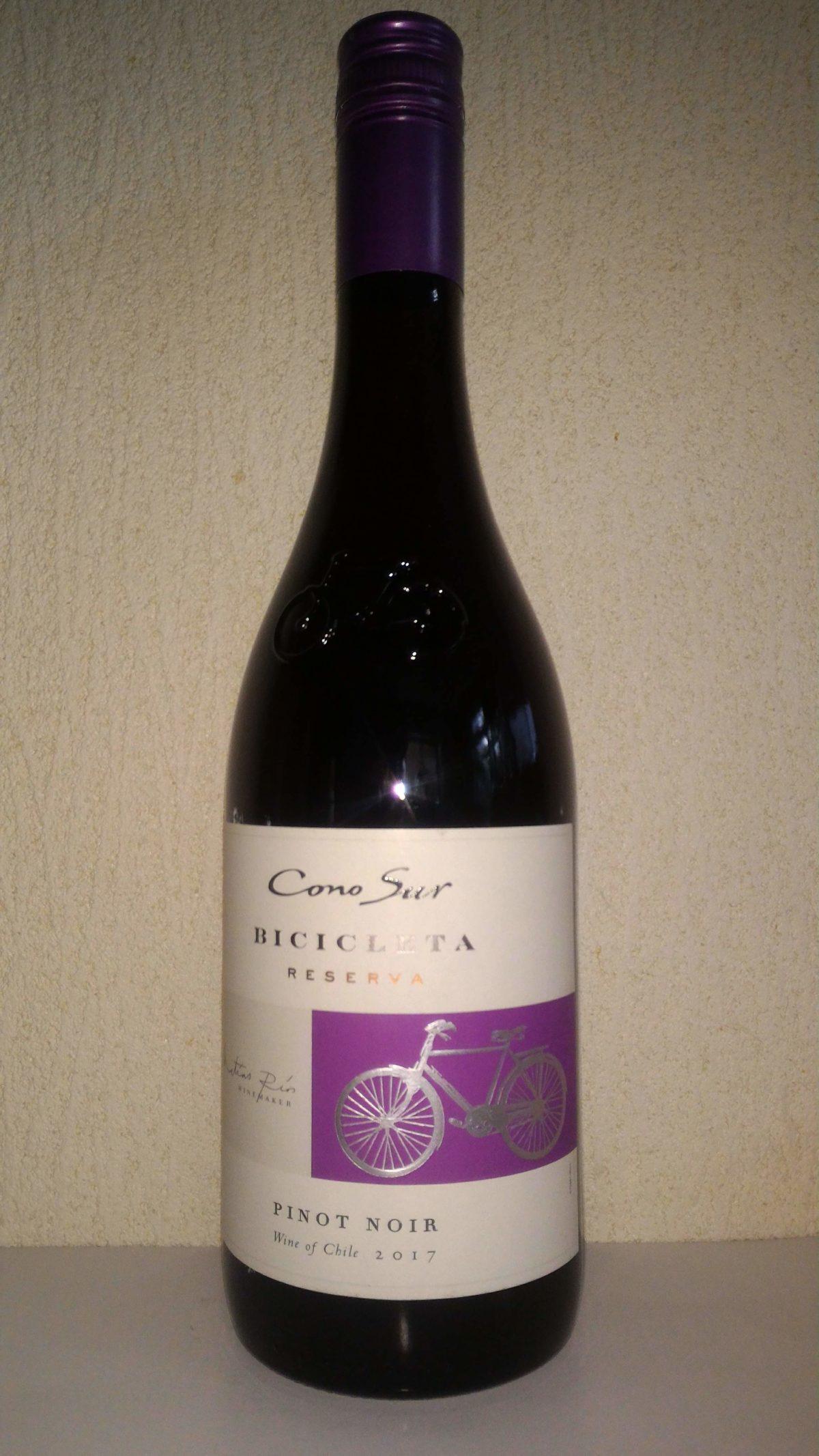 1000円以下で愉しむワイン「コノスル ピノ・ノワール ビシクレタ」